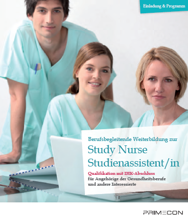 Flyer STUDY ASSISTANT TRAINING