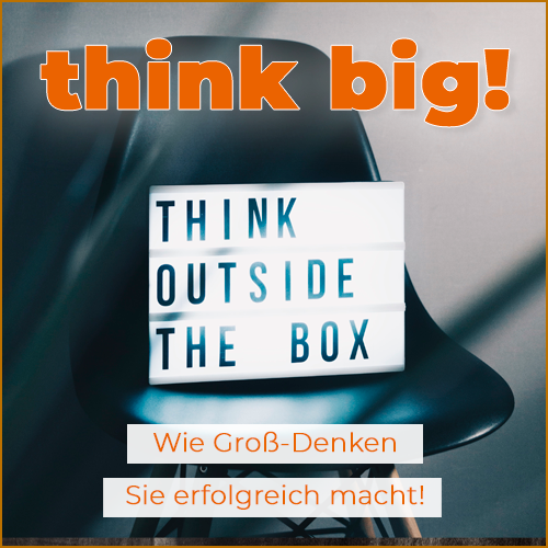 think big! SELTBSTOPTIMIERUNGs-WEBINAR